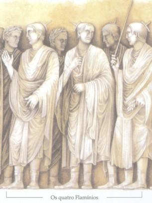 Painel dos 4 Flaminius