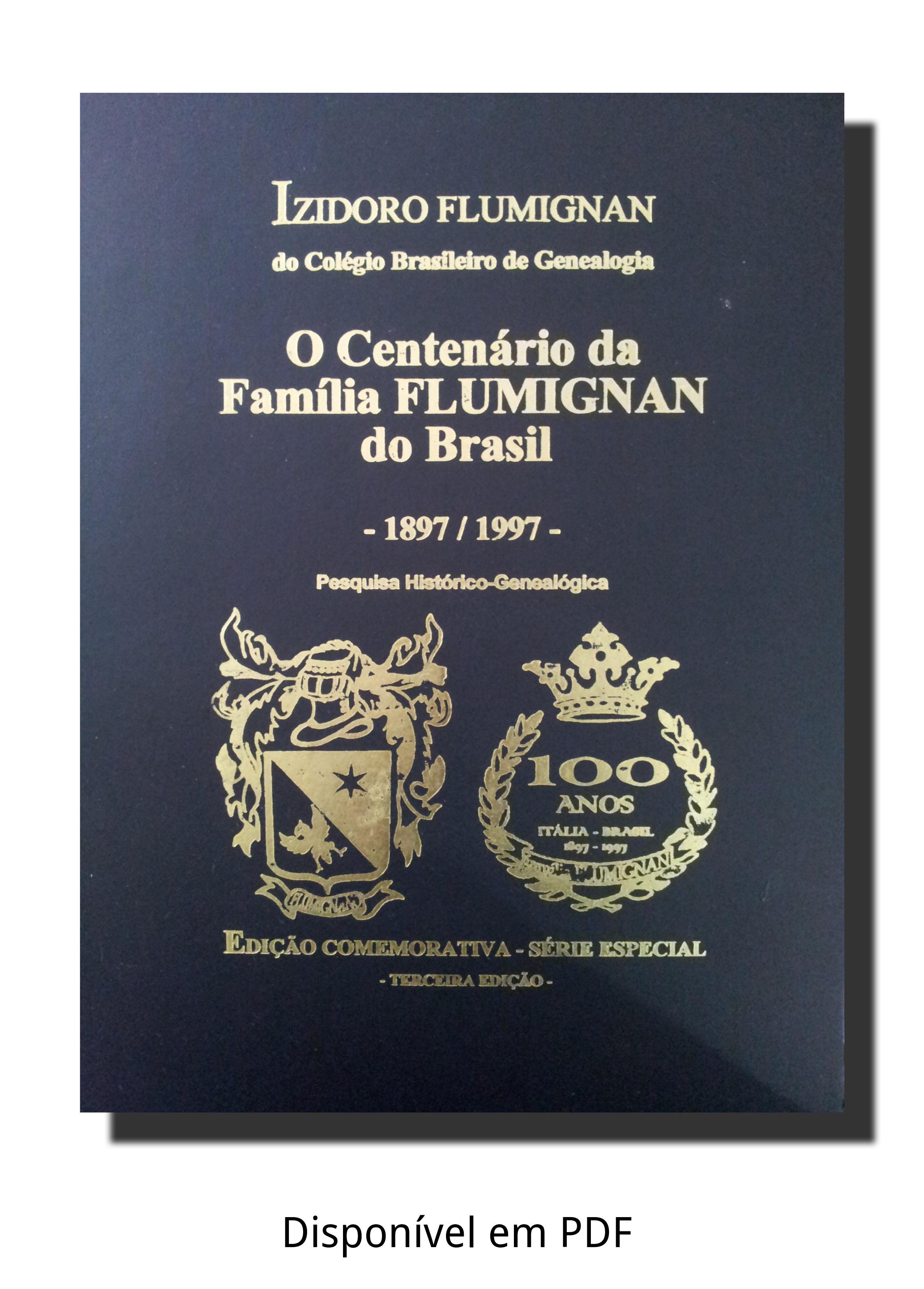 Foto do Livro do Centenário